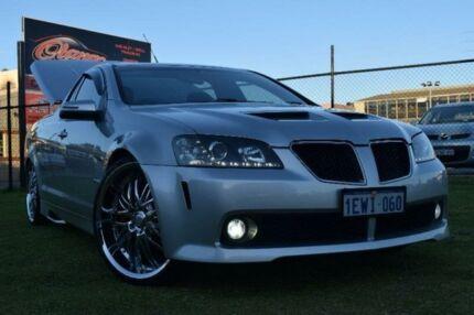 2010 Holden Ute VE SS V Silver Manual Utility