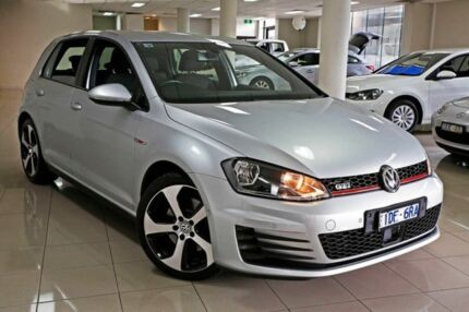 2015 Volkswagen Golf VII MY15 GTI DSG Reflex Silver 6 Speed Sports Automatic Dual Clutch Hatchback South Melbourne Port Phillip Preview