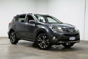 2015 Toyota RAV4 ASA44R MY14 Cruiser AWD Grey 6 Speed Sports Automatic Wagon Welshpool Canning Area Preview