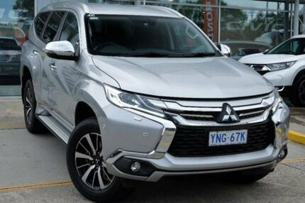 2016 Mitsubishi Pajero Sport QE MY16 Exceed Silver 8 Speed Sports Automatic Wagon Belconnen Belconnen Area Preview