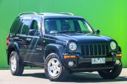 2003 Jeep Cherokee KJ MY2003 Limited Black 4 Speed Automatic Wagon