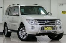 2013 Mitsubishi Pajero NW MY14 Exceed LWB (4x4) White 5 Speed Auto Sports Mode Wagon Chatswood West Willoughby Area Preview