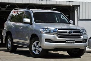 2015 Toyota Landcruiser VDJ200R MY16 GXL (4x4) Silver 6 Speed Automatic Wagon Mosman Mosman Area Preview