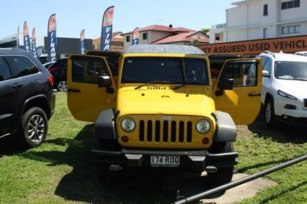 2011 Jeep Wrangler JK MY2011 Unlimited Sport Yellow 4 Speed Automatic Softtop