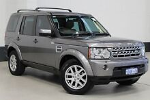 2011 Land Rover Discovery 4 MY11 2.7 TDV6 Grey 6 Speed Automatic Wagon Bentley Canning Area Preview