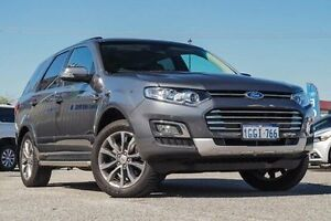 2016 Ford Territory SZ MkII Titanium Seq Sport Shift Grey 6 Speed Sports Automatic Wagon Morley Bayswater Area Preview