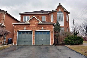 """""""Churchill Meadows"""" 4 bedroom Home- Available June 1st"""