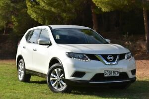 2015 Nissan X-Trail T32 ST X-tronic 2WD White 7 Speed Constant Variable Wagon St Marys Mitcham Area Preview