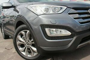 2012 Hyundai Santa Fe DM Highlander CRDi (4x4) Grey 6 Speed Automatic Wagon Wolli Creek Rockdale Area Preview