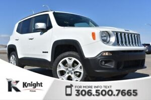2018 Jeep Renegade Limited Leather   Heated Seats & Steering Whe