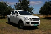 2014 Isuzu D-MAX MY14 SX Crew Cab 4x2 White 5 Speed Manual Utility Officer Cardinia Area Preview