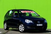 2009 Volkswagen Polo 9N MY2009 Pacific Blue Gem 6 Speed Sports Automatic Hatchback Ringwood East Maroondah Area Preview
