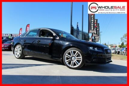 **2008 AUDI A4 1.8L 6 SPEED MANUAL** Black on Black, RARE find in a manual. Car has been well mainta Minchinbury Blacktown Area Preview