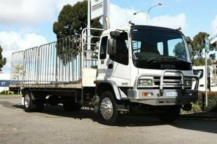 2007 Isuzu F Series  White Welshpool Canning Area Preview