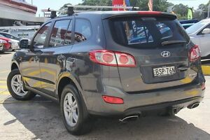 2010 Hyundai Santa Fe CM MY10 SLX CRDi (4x4) Grey 6 Speed Automatic Wagon Wolli Creek Rockdale Area Preview