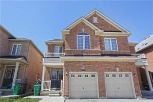 Fully Brick Semi Detached 3 Bedrooms, 4 Washrooms Home