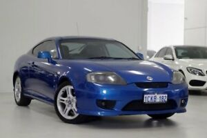2006 Hyundai Tiburon GK MY06 V6 Blue 4 Speed Sports Automatic Coupe Myaree Melville Area Preview