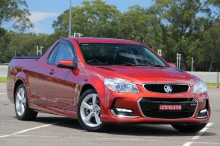 2016 Holden Ute VF II MY16 SS Ute Red 6 Speed Sports Automatic Utility West Gosford Gosford Area Preview