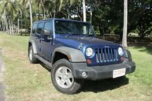 2010 Jeep Wrangler Unlimited JK MY09 Sport (4x4) Blue 4 Speed Automatic Softtop The Gardens Darwin City Preview