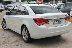 2012 Holden Cruze JH MY13 CD White 6 Speed Automatic Sedan Wolli Creek Rockdale Area Preview