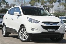 2012 Hyundai ix35 LM MY13 Highlander (AWD) White 6 Speed Automatic Wagon Rosebery Inner Sydney Preview