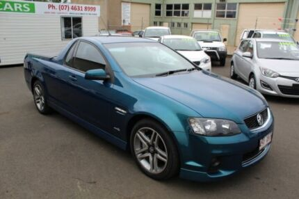 2011 Holden Ute VE II MY12 SV6 Blue 6 Speed Manual Utility