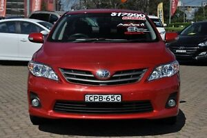 2013 Toyota Corolla ZRE152R MY11 Ascent Sport Red 4 Speed Automatic Sedan Zetland Inner Sydney Preview
