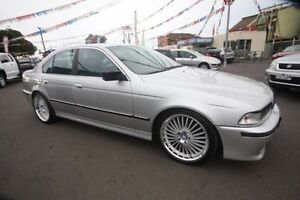 1999 BMW 523I E39 Steptronic Silver 5 Speed Sports Automatic Sedan Kingsville Maribyrnong Area Preview