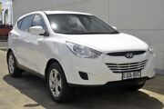 2013 Hyundai ix35 LM2 Active White 6 Speed Sports Automatic Wagon Thorngate Prospect Area Preview