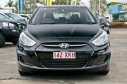 2017 Hyundai Accent RB4 MY17 Active Black 6 Speed Manual Sedan Capalaba Brisbane South East Preview