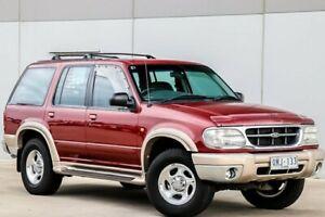 1999 Ford Explorer UQ XLT Burgundy 5 Speed Automatic Wagon Pakenham Cardinia Area Preview