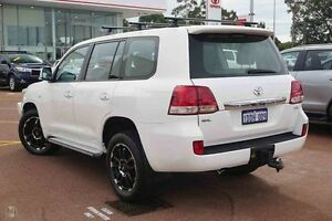 2008 Toyota Landcruiser VDJ200R GXL White 6 Speed Sports Automatic Wagon Westminster Stirling Area Preview