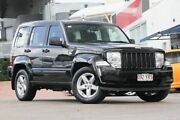 2012 Jeep Cherokee KK MY12 Sport 4x2 Brilliant Black 4 Speed Automatic Wagon Hillcrest Logan Area Preview