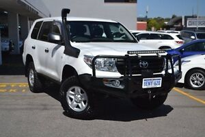 2014 Toyota Landcruiser VDJ200R MY13 GX Glacier White 6 Speed Sports Automatic Wagon Claremont Nedlands Area Preview