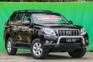 2011 Toyota Landcruiser Prado KDJ150R GXL Black 5 Speed Sports Automatic Wagon Ringwood East Maroondah Area Preview