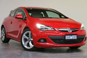 2015 Holden Astra PJ MY15.5 GTC Sport Red 6 Speed Automatic Hatchback Southbank Melbourne City Preview