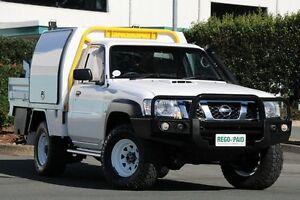 2012 Nissan Patrol GU 6 Series II DX White 5 Speed Manual Cab Chassis Acacia Ridge Brisbane South West Preview