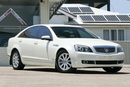2010 Holden Statesman WM MY10 White 6 Speed Sports Automatic Sedan Moorooka Brisbane South West Preview
