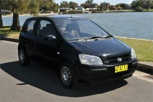 2005 Hyundai Getz TB GL Black 4 Speed Automatic Hatchback Five Dock Canada Bay Area Preview