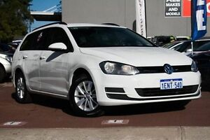 2014 Volkswagen Golf VII MY14 90TSI DSG White 7 Speed Sports Automatic Dual Clutch Wagon Cannington Canning Area Preview