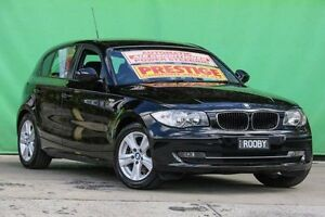 2010 BMW 118i E87 MY09 Black 6 Speed Automatic Hatchback Ringwood East Maroondah Area Preview