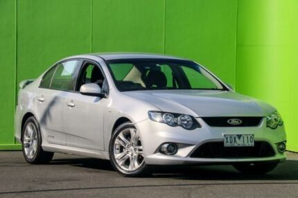 2009 Ford Falcon FG XR6 Silver 5 Speed Sports Automatic Sedan Ringwood East Maroondah Area Preview