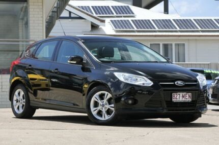 2012 Ford Focus LW Trend PwrShift Panther Black 6 Speed Sports Automatic Dual Clutch Hatchback Moorooka Brisbane South West Preview