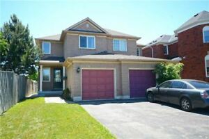 Beautiful Well Maintained 3BR Semi-Detached Located In Lisgar