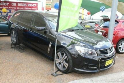 2013 Holden Commodore VF SV6 Black 6 Speed Automatic Sportswagon Minchinbury Blacktown Area Preview
