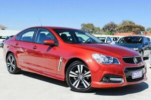 2015 Holden Commodore VF MY15 SV6 Storm Red 6 Speed Sports Automatic Sedan Craigieburn Hume Area Preview