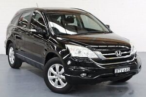 2010 Honda CR-V RE MY2010 Sport 4WD Black 5 Speed Automatic Wagon Cardiff Lake Macquarie Area Preview