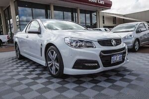 2013 Holden Ute VF MY14 SV6 Ute White 6 Speed Sports Automatic Utility Alfred Cove Melville Area Preview
