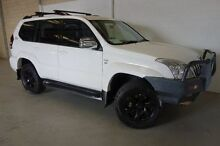 2008 Toyota Landcruiser Prado KDJ120R GXL White 5 Speed Automatic Wagon Silver Sands Mandurah Area Preview
