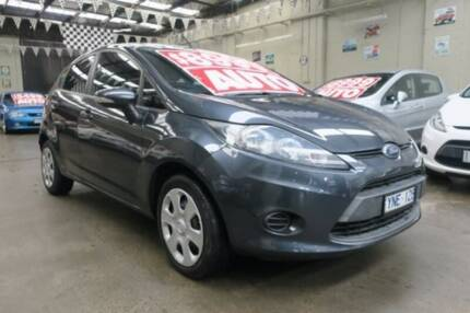 2012 Ford Fiesta WT CL 6 Speed Automatic Hatchback Mordialloc Kingston Area Preview